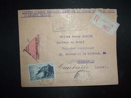 LR CR TP POINTE DU RAZ 20F OBL.23-12 47 AUTUN SAONE ET LOIRE (71) - 1921-1960: Modern Period