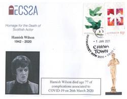 (DD 22) (Australia) COVID-19 Pademic Related Death - Scottish Actor Hamish Wilson (26-3-2020) - Malattie