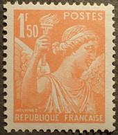 R1098/154 - 1939 - TYPE IRIS - N°435a NEUF** ➤➤➤ FAUX DE L'INTELLIGENCE SERVICE ➤➤ VOIR INFO. CI-DESSOUS - 1939-44 Iris