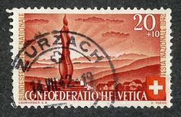W 16033 Swiss 1942  Mi.# 409  Offers Welcome! - Gebraucht
