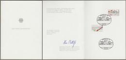 "Bund, Europe: Ministerkarte Mi.-Nr. 1130-31: "" Europa 1982: FEFAS - PTT Kongreß In Berlin "" - Storia Postale"