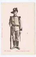 H416) África Portuguesa Angola Soldado De Infantaria Europeia Ed. Osório & Seabra - Angola