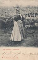 PALERMO-CATANIA-MESSINA-TRAPANI-RAGUSA-CINTADINA-ì-CARTOLINA NON VIAGGIATA NEL 1905 - Palermo