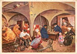 CPSM Royat-Fontanas-Veillée Dans Une étable   L202 - Royat