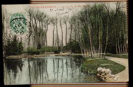 CPA INDRE CHATEAUROUX N°31 LE LAC DU JARDIN PUBLIC COLORISEE 1907 - Chateauroux