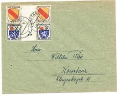 OCCUPATION FRANCAISE EN ALLEMAGNE BELLE COMPO KONSTANZ 1947 LETTRE - 1921-1960: Modern Period
