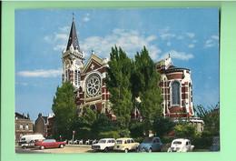 59------LAMBERSART---l'église Saint-calixte---( Voitures 4L + 2CV + 4CV + Autres )--voir 2 Scans - Autres Communes