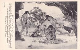 Pithecanthropus Chinese Prehistoric Animal Painting Postcard - Zonder Classificatie