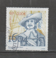FRANCE / 2004 / Y&T N° 3678 : Pierre Dugua De Mons - Choisi - Cachet Rond - Gebruikt