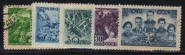 Russie - URSS 1944 Yvert 883/87 Oblitérés (AD93) - Gebraucht