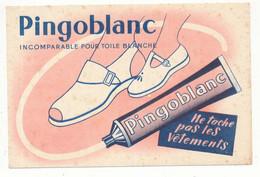 Buvard 18 X 12 PINGOBLANC Pour Les Toiles Blanches  Chaussures Tube - Wash & Clean