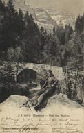 Champery Pont Des Moulins Recto Verso - VS Valais