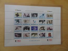 Österreich 20er KB Personalisiert Postfrisch 70 Jahre Tonin Sailer (9305) - Private Stamps