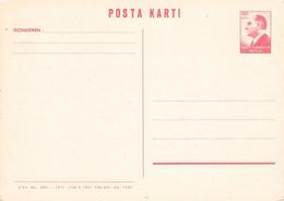TURKEY - POSTA KARTI 1964 30 KURUS Not Used /AA186 - Interi Postali