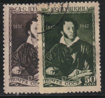Russie - URSS 1947 Yvert 1079/80 Oblitérés (AD95) - Used Stamps