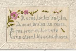 Fantaisie Brodée : A Vous Toutes Les Joies ....... - Bordados