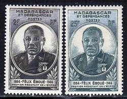 Madagascar 1945 Yvert 298 / 299 * TB Charniere(s) - Ungebraucht