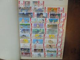 BELGIQUE TIMBRES PERSONNALISES JOLIE SELECTION En ALBUM (RH.45) 1 KILO 200 - Private Stamps