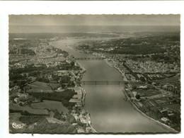 BAYONNE (64) - Vue Aérienne - L'Adour à La Traversée De La Ville - Bayonne
