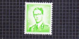 1958 Nr 1068P3** Postfris Zonder Scharnier, Koning Boudewijn,type Marchand.Fosforescerend Papier. - 1953-1972 Anteojos
