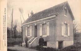 76-BLEVILLE- MAISON CONSTRUITE A BLEVILLE AVEC LE CONCOURS FINANCIER DE LA PREVOYANCE DE L'OUEST - Andere Gemeenten