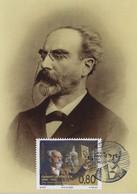 Luxembourg 2020 FDC Carte Maximum Gabriel Lippmann Prix Nobel Physique 1908 ¦ Nobel Prize ¦ Nobelpreis - Briefe U. Dokumente