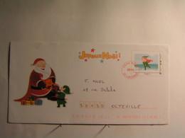 """Fêtes - Voeux > Noël - Enveloppe Illustrée - Père Noel - Entier Postal - Timbre """" Lutin """" - Sin Clasificación"""