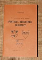 E Lebeau 3 Paroisses De La Brie Française Pontault Berchères Combault Raimbault 1974 Seine Et Marne - Ile-de-France
