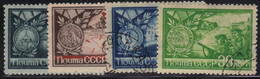 Russie - URSS 1944 Yvert 924/27 Oblitérés (AD98) - Used Stamps