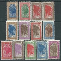 Madagascar N° 161A / 78 X  La Série Des 22 Valeurs  Trace De Charnière Sinon TB - Unused Stamps