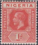 Nigeria 1914 1p Carmine Red MiN°2 MLH/* Vedere Scansione - Nigeria (...-1960)