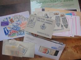 TRES BEAU MELI-MELO EUROPE MAJORITES TIMBRES-FDC-COURRIERS-DIVERS  A DECOUVRIR (1 KILO 300) - Lots & Kiloware (mixtures) - Min. 1000 Stamps