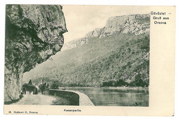 RO 32 - 3808 ORSOVA, KAZANE, Romania - Old Postcard - Used - 1915 - Romania