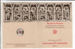 Carnet Croix Rouge Française 1960 Avec 8 Timbres   Charité De Saint Martin - Cruz Roja