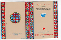 1961 Carnet Croix Rouge - Cruz Roja
