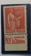 """France""""PUB"""" N°283g Neuf Sans Gomme - Maury N°236 Cote 24€ - - Nuevos"""