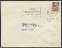 """SANTÉ - FRANCE N° 1216 O.M. PARIS LE 1/10/1959 """" L'HOPITAL PROBLEME NATIONAL 2 AU 9/10/1959 """" SUP - Polucion"""