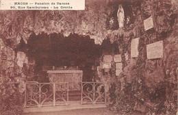 Mâcon Pension Dames Rue Rambuteau Grotte Vierge éd Combier - Macon