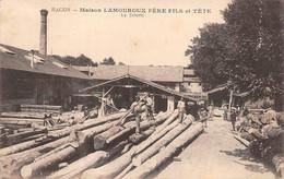Mâcon Scierie Lamouroux Et Tête éd Combier - Macon