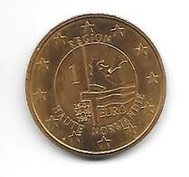 Piece 1 Euro Des Regions Haute Normandie 1997 - France