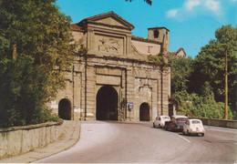 BERGAMO - PORTA S. AGOSTINO - AUTO D'EPOCA CARS VOITURES CITROEN DS SQUALO E FIAT 500 - NON VIAGGIATA - Bergamo