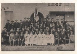 Krieger Verien Wanzenau Fahnenweihe   1913 - Strasbourg
