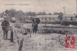 Cap -Ferret: Villa Cazeaux :Inconnue Sur Delcampe/ Animée - Altri Comuni