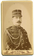 Carte De Visite CDV Charles Louis Regnault (1856 - 1937) Fut General Photo Eugene Pirou Paris Vers 1880 - 1890 - Guerra, Militari