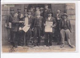 NANTES : La Grève Des Dockers En 1907 - Groupe De Militants - état - Nantes