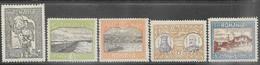 Romania   1913    Sc#230, 232-5  5 Diff  MH    2016 Scott Value $8.70 - Ongebruikt