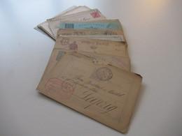 Portugal Ganzsachen Ab Ca. 1889 - 1900 Auslandskarten 1x Ungebrauchte Doppelkarte /verschiedene Stempel Insgesamt 55 Stk - Collections (without Album)