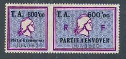 DX-219: FRANCE: Lot Avec Fiscaux N°14** (A+B) - Fiscaux