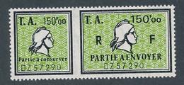 DX-220: FRANCE: Lot Avec Fiscaux N°12** (A+B) - Fiscaux