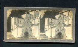 "BOM JESUS BRAGA Fotografia Estereoscopica Antiga De ""JOÃO L.CARREIRA Benguella"". Old Stereoview Photo PORTUGAL - Stereoscopic"